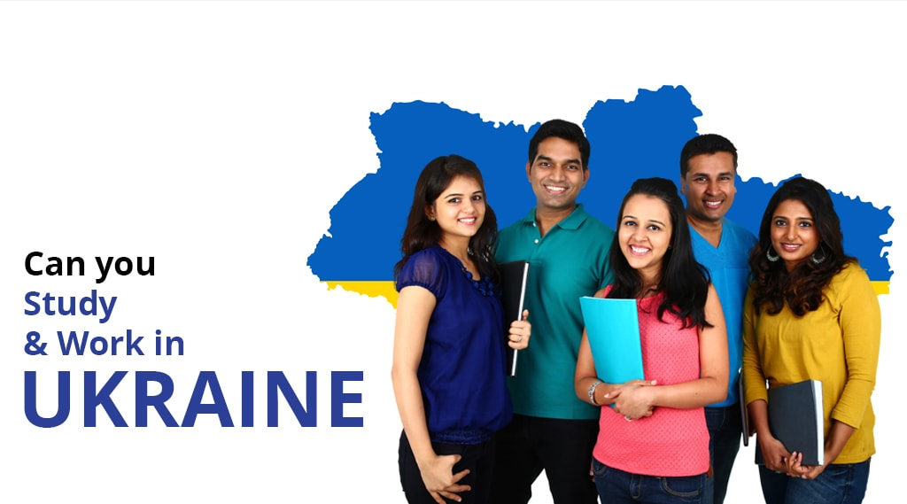 Can you study & work in Ukraine