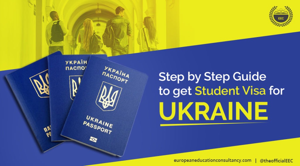 Step by Step Guide to a Get Student Visa for Ukraine