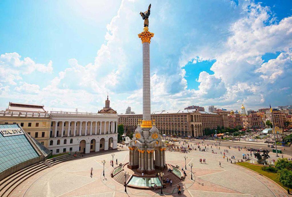 Kiev on the Bessarabska Square