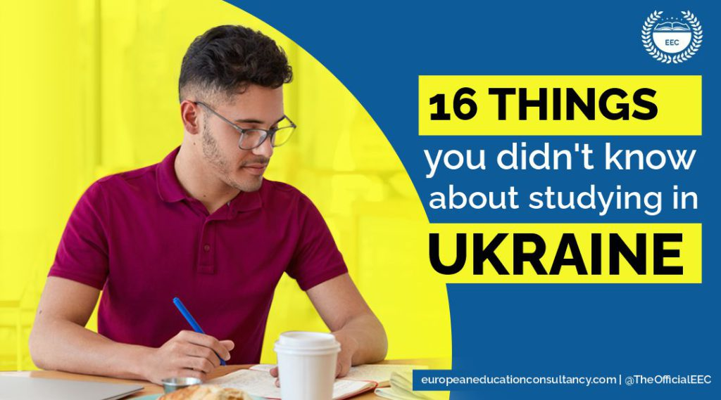16 things about studying in Ukraine you must know